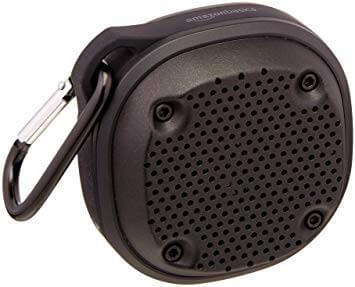 AmazonBasics Shockproof and Waterproof Bluetooth Wireless Mini Speaker