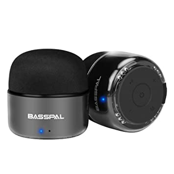 BassPal Portable Tiny Waterproof Speakers