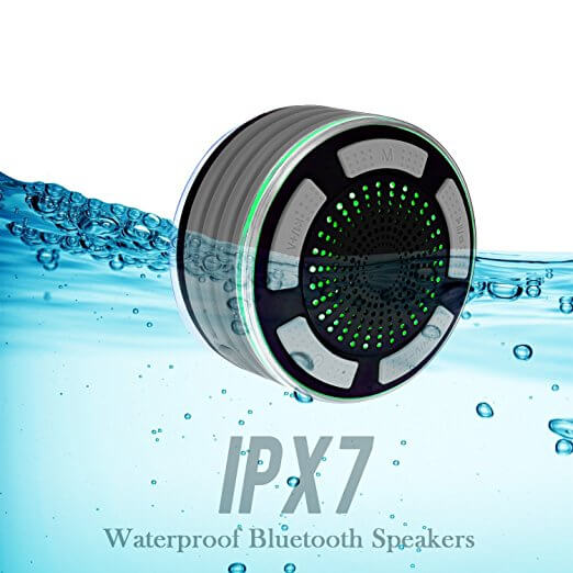 Basspal IPX7 Portable Wireless Waterproof Speaker For Shower Time