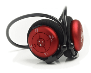 waterproof headphone with text to speech navigation