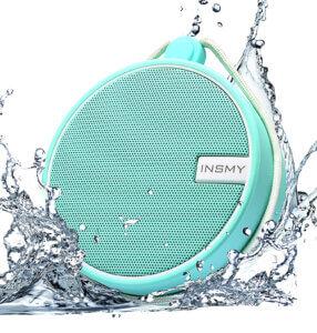 INSMY Store IPX7 Waterproof Shower Speaker