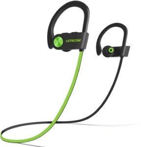 LETSCOM U8I Waterproof Bluetooth Sports Earphones