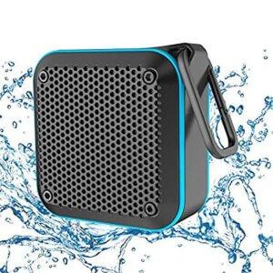 LEZII-BT525-BL-Portable-Waterproof-Shower-Speaker