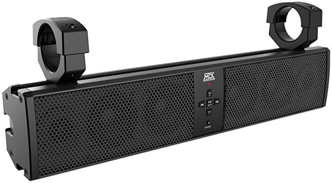MTX MUD6SPBT Universal 6 Speaker Soundbar For ORV and Side by Side