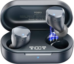 TOZO T12 Bluetooth Swimming Earbuds