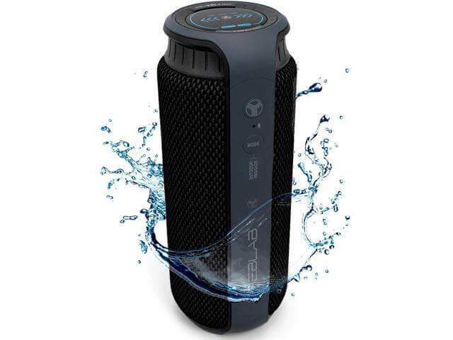 TREBLAB HD55 - Deluxe Mini Waterproof Bluetooth Speaker