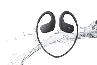 Sony nw ws413 waterproof swimming headphone