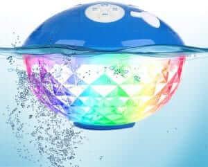 Blufree floating waterproof speaker