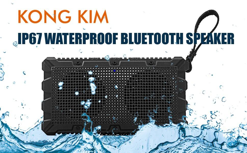 Kong Kim Wireless Floating Waterproof Speaker