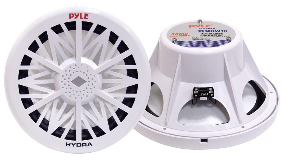 PYLE PLMRW8 Water Resistant Marine Subwoofer
