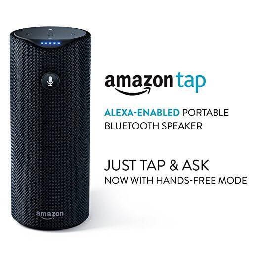 Amazon Tap - Alexa Enabled Speaker for Echo Dot