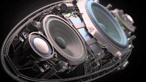 Bowers-Wilkins-Zeppelin-Wireless-Speaker internal details