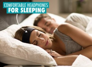 CozyPhones-Sleep-Headphones is light weight, thin and made of soft touch fabric