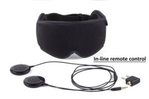 Sleep Headphones and Sleeping Mask by Hibermate