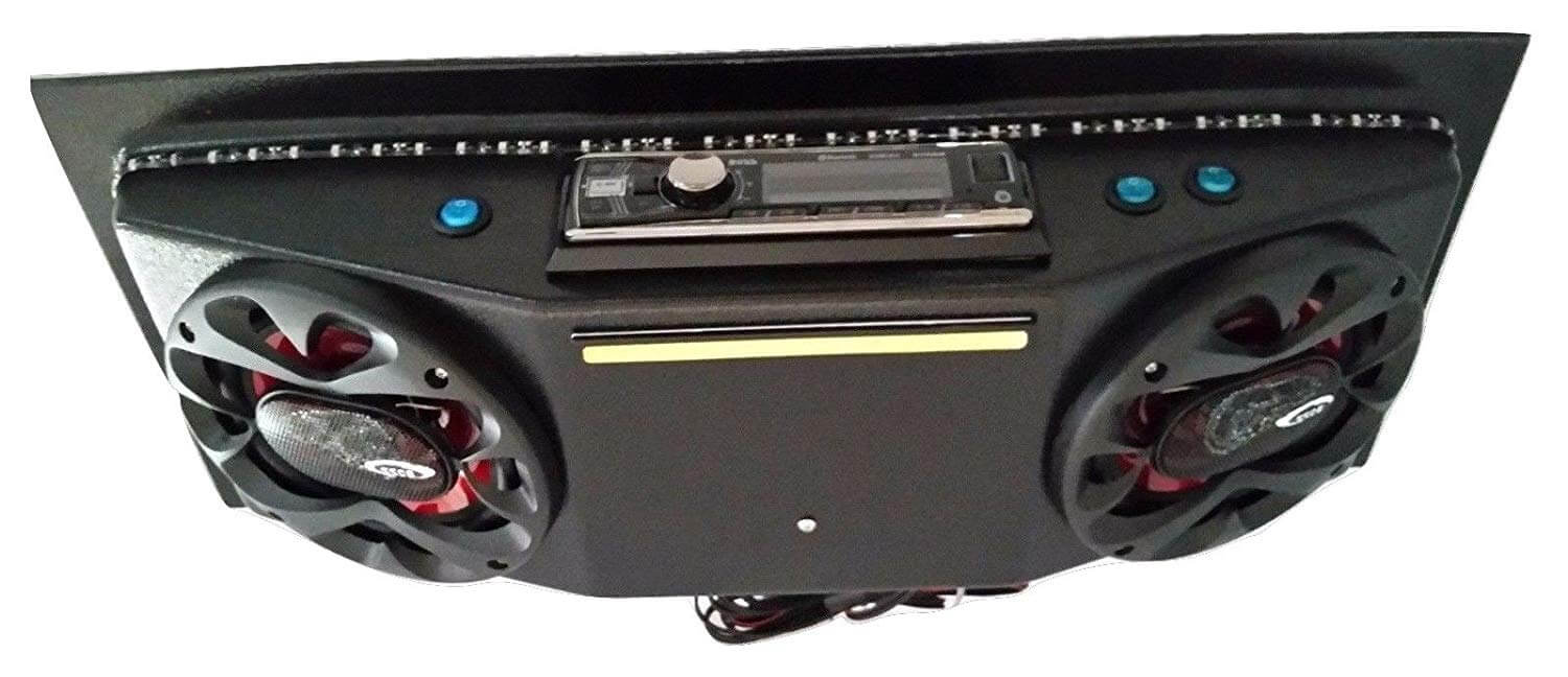 ThunderBucket Custom Golf Cart Radio Console Model 1