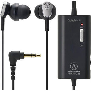 Cheap noise cancelling earbuds from audio technica
