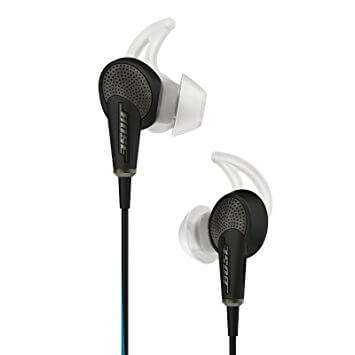 Noise cancelling earbuds from Bose