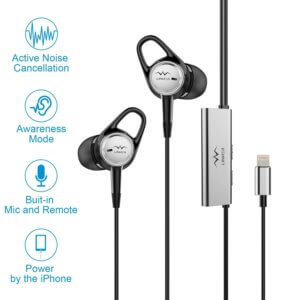 Linner NC21 Active Noise Cancelling Earbud