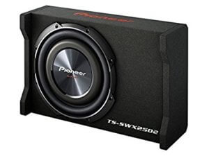 Pioneer TS-SWX2502 Under seat subwoofer