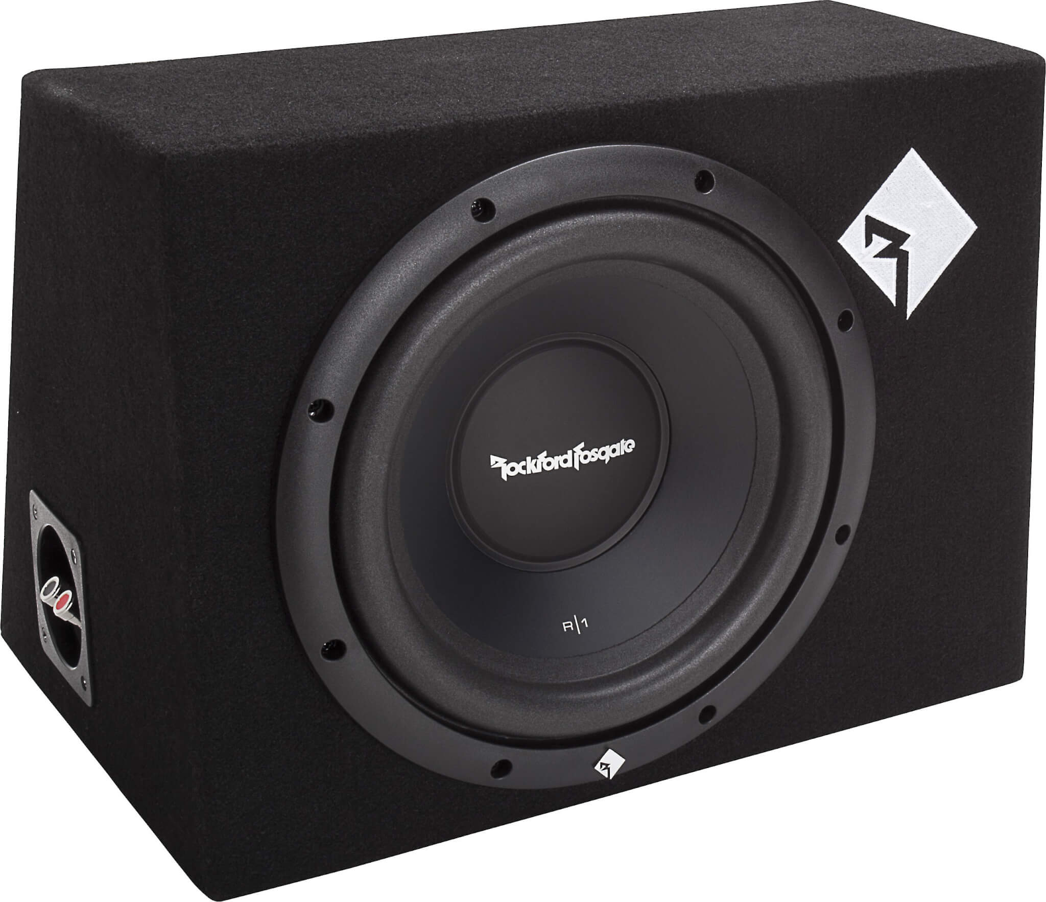 Rockford R11X10 10-Inch underseat subwoofer for car
