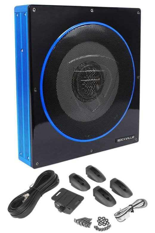 Rockville-RW10CA subwoofer for motor sport