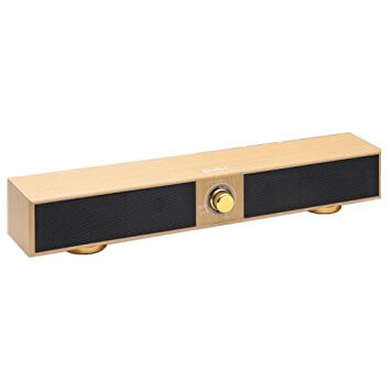 Connectland 17 inch 2.0 Channel USB Powered Stereo Sound Bar