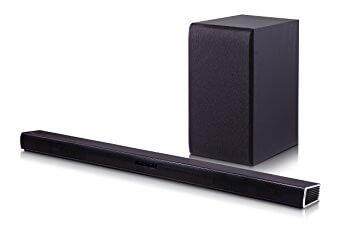 LG 2.1 Channel Soundbar System Model SH4