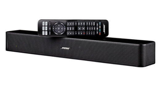 best small soundbar - bose solo 5