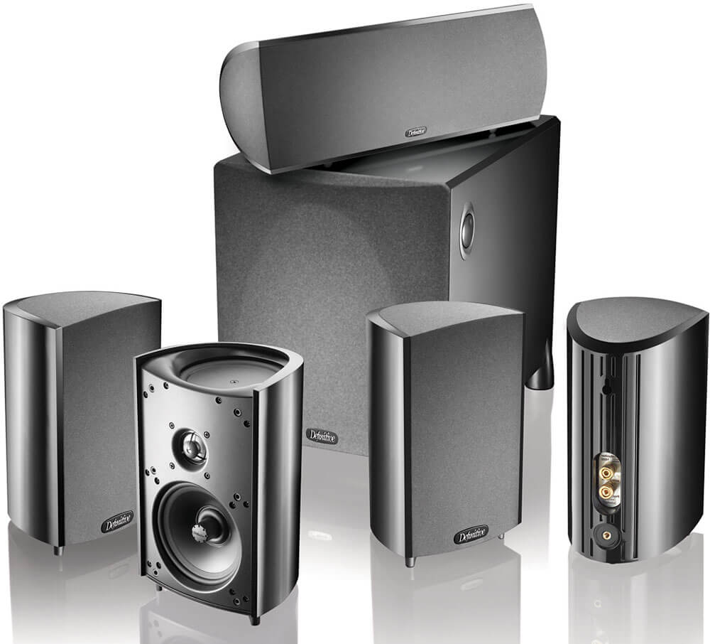 Definitive Technology ProCinema 600 5.1 Home Theater Speaker