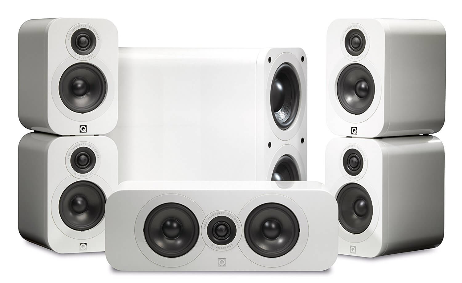 Q Acoustics 3000 Series 5.1 Cinema Pack Home Theater System