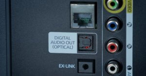 Digital Optical Out In Television