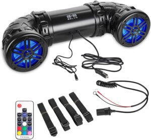 Belva BPS6RGB 400-watt Bluetooth ATV Speaker System