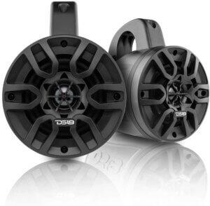 DS18 Store DS18 Hydro NXL-4TP BK Black Marine Tower Speaker