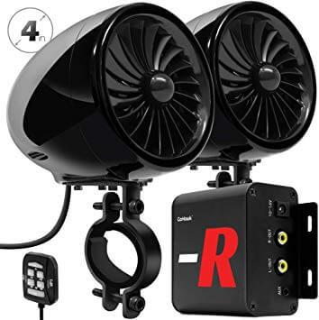 GoHawk TJ4-R ATV stereo system
