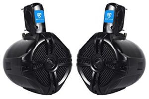 Pair Rockville RWB65B Marine Speaker For Boat
