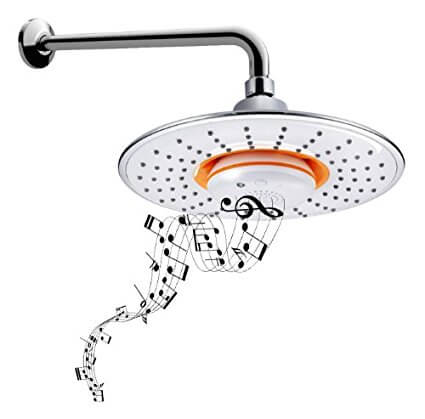 Bidet4me Msh 10 Music Showerhead Waterproof Bluetooth Speaker