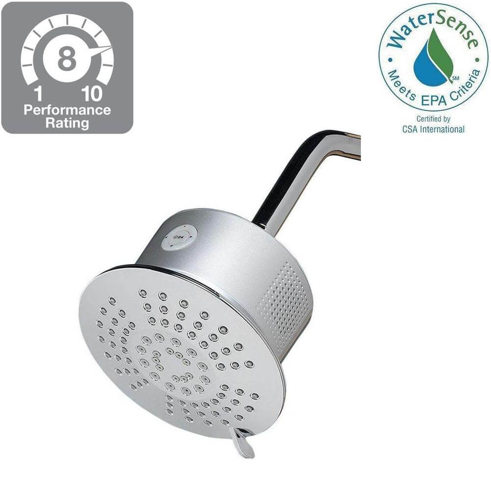 HOMEWERKS WORLDWIDE 3073-201BT Bluetooth Shower Head Speaker