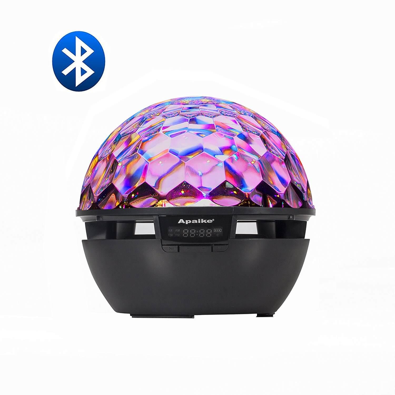 LVL Disco Ball Party Lights Speaker