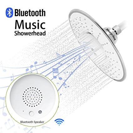 Morpilot Bluetooth Shower Head Speaker