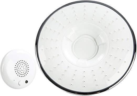Sharper Image Bluetooth Shower Head Speaker