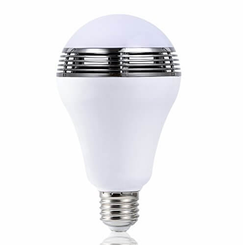 Autai LED Bluetooth Light Bulb Speaker