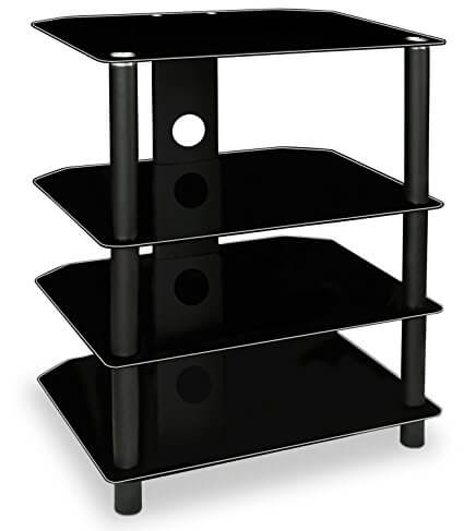 Mount-It Glass Shelves For Speakers