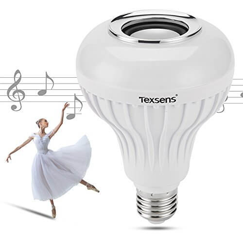 Texsens Smart Bluetooth Light Bulb Speaker Generation II