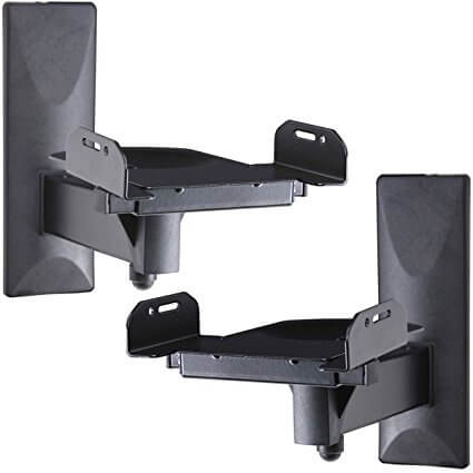 VideoSecu Side Clamping Speaker Shelf Mount