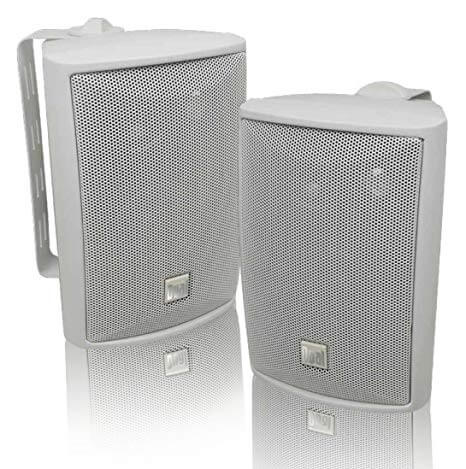 Dual Electronics LU43PW 3-Way High Performance Outdoor Stereo Speaker