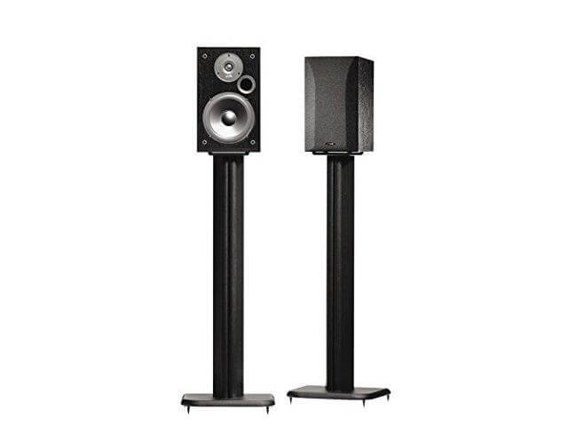 SANUS BF31-B1 Bookshelf Speaker Stands