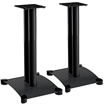 Sanus SF22-B1 Steel Foundation IV 22 inches Black Bookshelf Speaker Stand