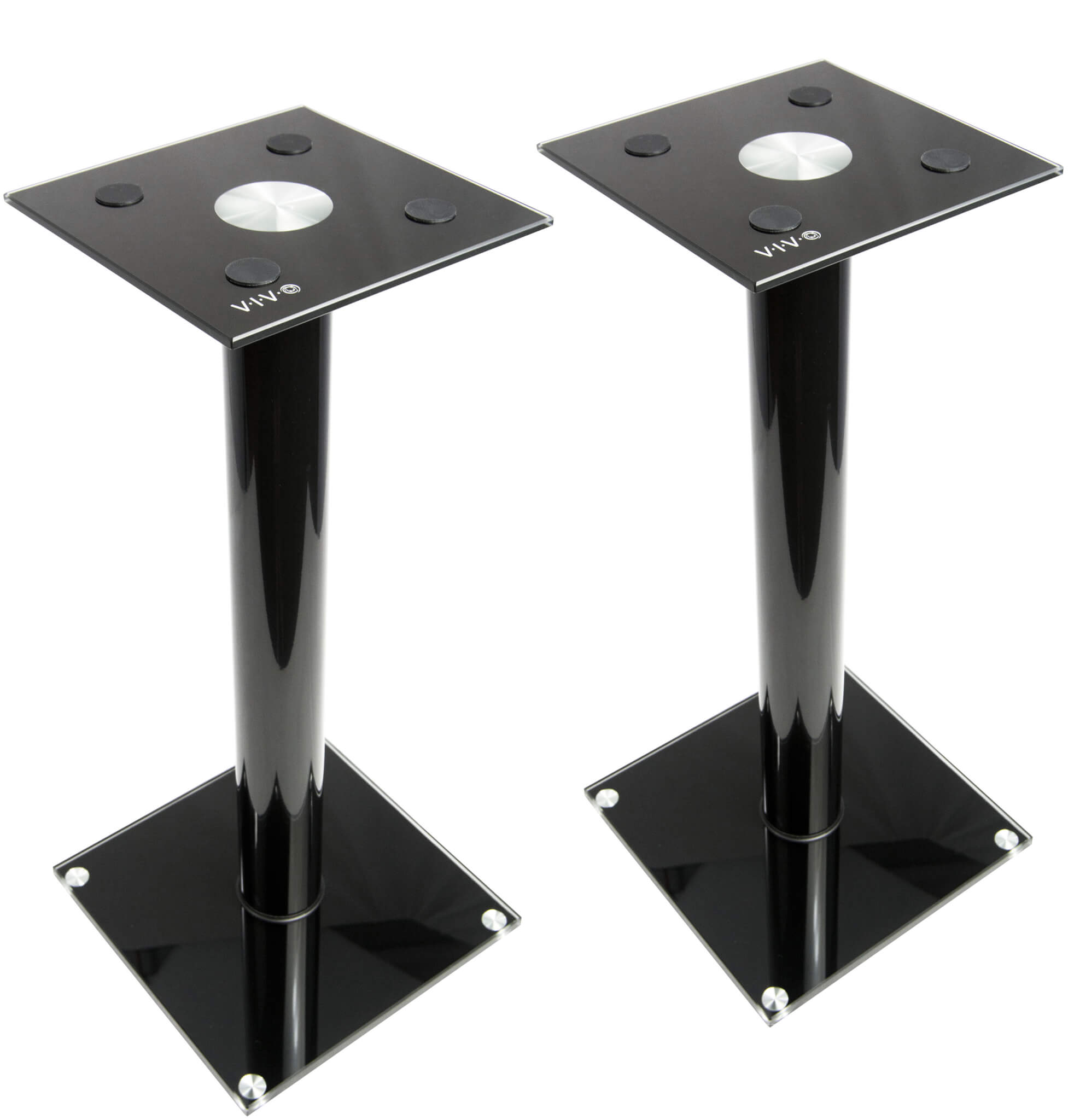 VIVO Premium Universal Floor Speaker Stands for Surround Sound