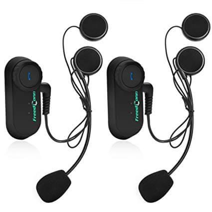FreedConn 2x Waterproof Wireless Bluetooth Helmet Headset