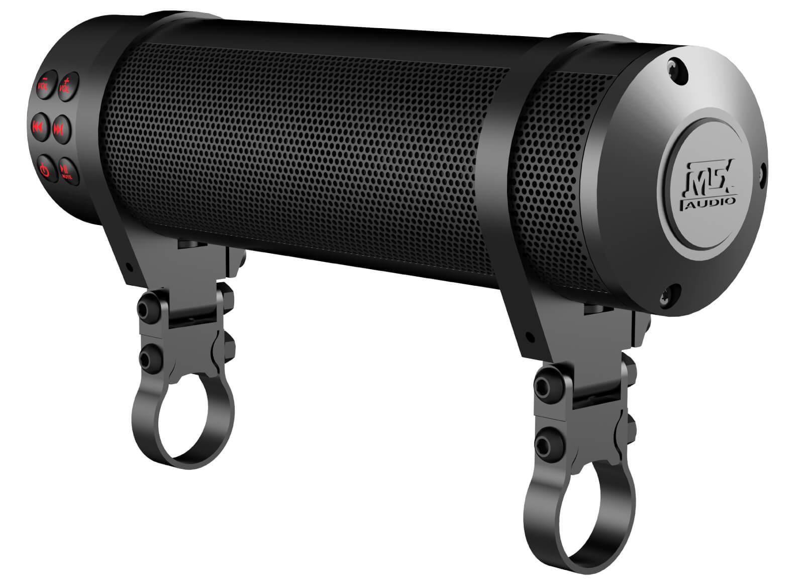 MTX MUDHSB-B Universal 6 Speaker Handlebar Speaker